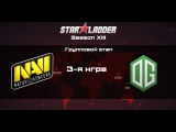 NaVi vs OG | Starladder Season 13, 3-я игра, 01.12.2015