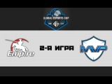 Empire vs MVP Phoenix   Global eSports Cup, 2-я игра, 02.12.2015