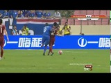 Shanghai Shenhua Vs Shanghai SIPG 2-1 - Demba Ba Leg Break - July 17 2016