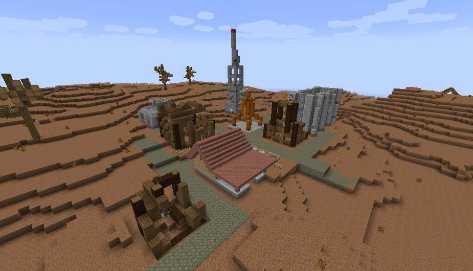 [Map] Fallout: Minecraft edition beta 0.2