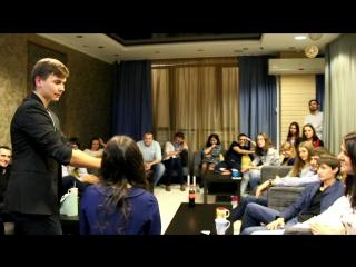 видеоотчет #1 / Выступление иллюзионист Александра Новелла (14.11.2015 - Time Club Атлантида - Красноярск)