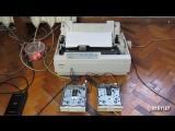 Высокие технологии. Undertale - Spider Dance, исполненная на матричном принтере и FDD