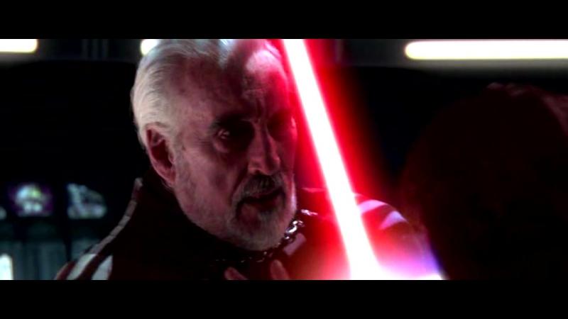 Граф Дуку против Оби-Вана Кеноби и Энакина Скайуокера.Звёздные Войны Эпизод 3.Месть Ситхов