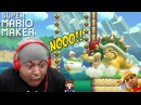 TESTING MY F %KING PATIENCE!! [SUPER MARIO MAKER] [ 46]