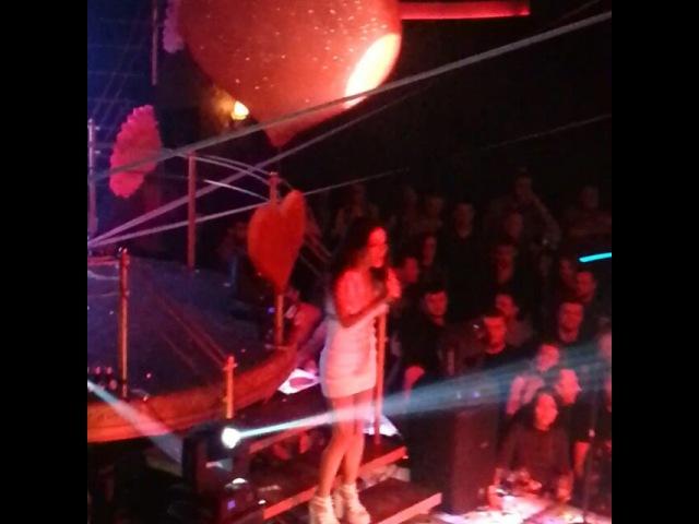 """Miss brunetka on Instagram: """"ночьконцертхарьковkharkov mistomistoclub Сегодня ночью радовала своим потрясающим голосом Злата Огневич!"""""""
