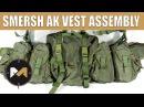 Сборка РПС СМЕРШ АК. Russian SMERSH AK vest assembly.