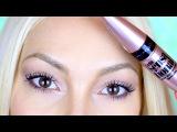 Обзор Туши Lash Sensational от Maybelline и сравнение с Push Up Drama | Karina Papag