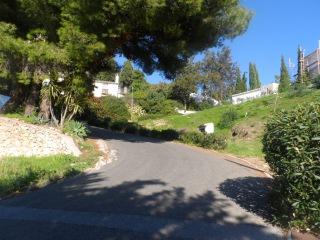 Дорога в гору и красивые пейзажи, Михас, Коста-дель-Соль, Испания, 10 ноября 2015 г