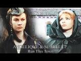 Angelique &amp Scarlett Run This Town