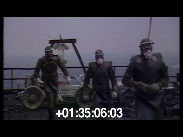 1986. На крыше ЧАЭС. Роботы