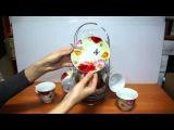 Чайный сервиз Цветы - A24Mag.ru