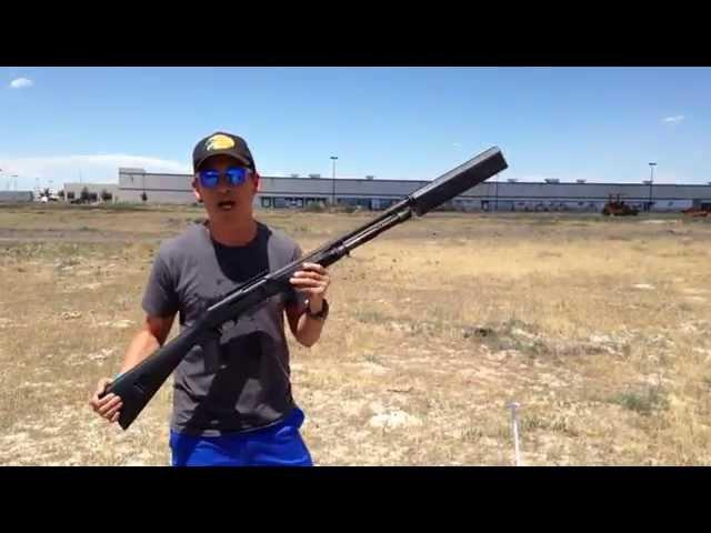 SilencerCo - new Salvo 12 shotgun suppressor