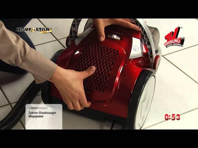 Cleanmaxx Zyklon-Staubsauger Multipower 3000 Watt (08059) | maxx-world.de
