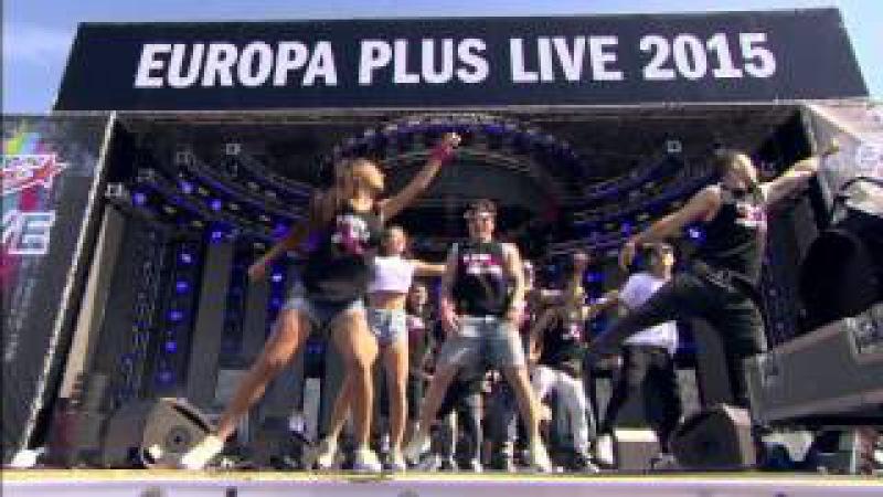 DIVAGE на главной сцене Europa Plus LIVE под Silento - Watch Me (Whip/Nae Nae) WatchMeDanceOn!
