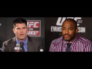 Rashad Evans talks McGregor/Diaz, His Comeback, Self-Belief and Anthony Johnson (08/16/2016)