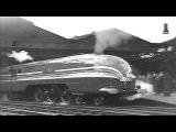 BUILDING THE CORONATION SCOT LMS STEAM LOCOMOTIVE - VINTAGE FILM 1938