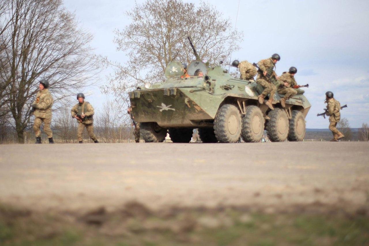 Учения ВС Украины «Весняний грім - 2016», март 2016 года ФОТО