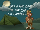 Kid's Guided Meditation ✿ Billy and Zac the Cat go Camping - Story No. 2