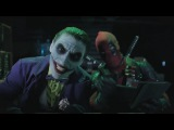 Джокер и Харли Квин против Дэдпула и Домино | Super Power Beat Down Episode 16 | На русском