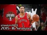 Derrick Rose Full Highlights 2016.03.23 vs Knicks - 21 Pts, 4 Assists