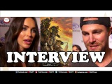 Interview with Megan Fox and Stephen Amell in TMNT 2