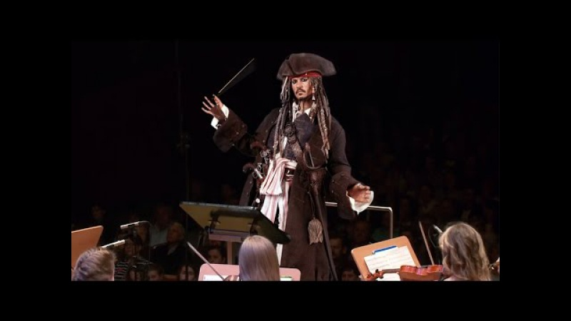 Pirates of the Caribbean Orchestral Medley, He's a Pirate パイレーツ・オブ・カリビアン 加勒比海盗 Fluch der Karibik