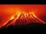 Извержение вулкана, снятое с помощью дрона  The eruption of a volcano that is captured by the drone