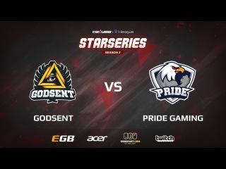 Godsent vs Pride, map 1 cbble, part 2, SL i-League StarSeries Season 2