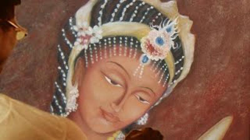 Indian art ajanta ellora Oil painting