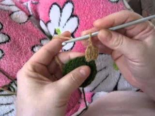 Видеоурок по вязанию крючком.Пышный столбик