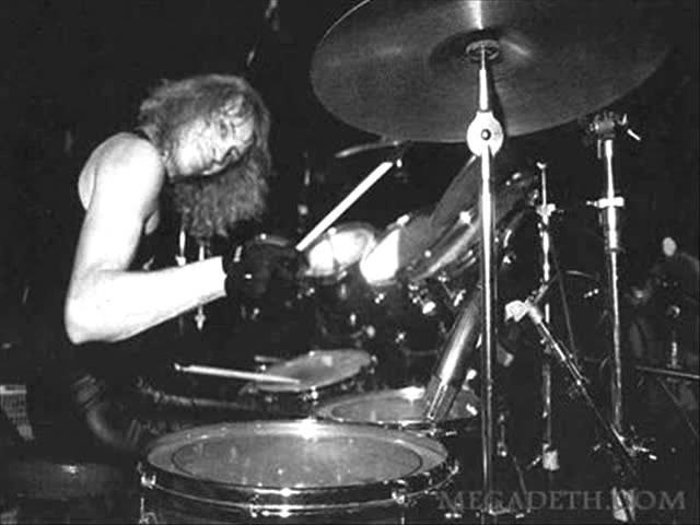 Megadeth Gar Samuelson- Bad Omen Drum Track (HQ 480p)