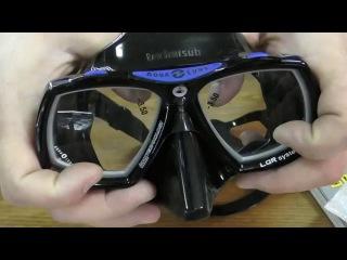 маска с диоптриями для подводного плавания