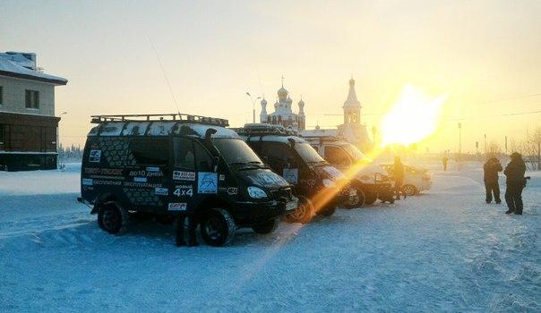 Экспедиция на внедорожниках «Соболь 4х4» отправилась к Северному Ледовитому океану 3