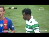 Селтик - Барселона 1:2. Эмброуз (автогол)