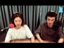 02.08.16 SBS radio Night like tonight Love blossom: V date - Roy Kim X Lee Ho-jung