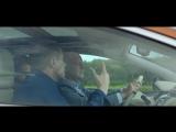 Алексей Кортнев, Пётр Налич и Максим Кадаков ведут серьёзные мужские разговоры о жизненно важном за рулем нового #Nissan #Murano