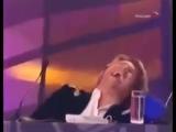Басков упал со стула)))