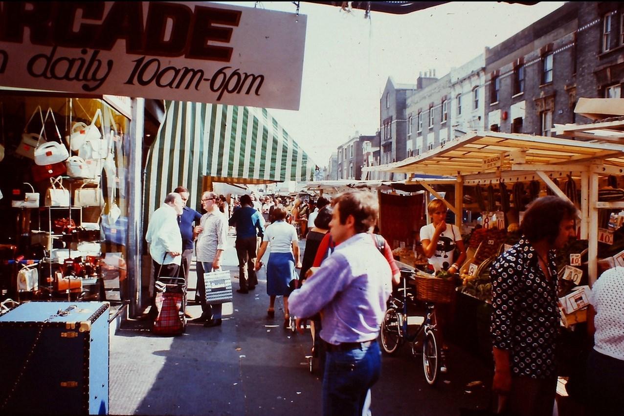 Фотографии Лондона 1976 года