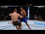 Стипе Миочич   Алистер Оверим (повторы лучших моментов) UFC203 ЮФС203