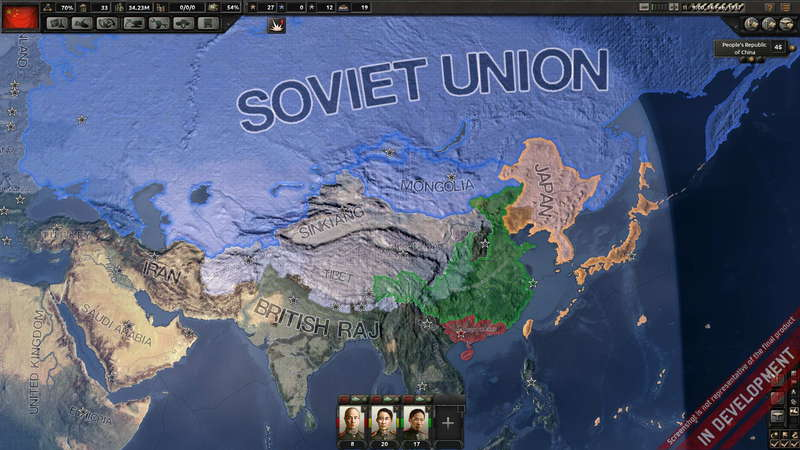 Hearts of Iron IV: Field Marshal Edition v.1.0.0.19987 +12 DLC (2016) PC - Скриншот 2