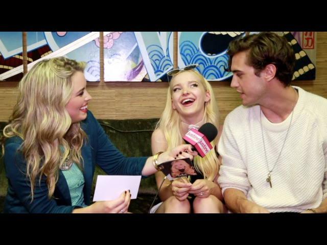 Justine Magazine Dove Cameron Ryan McCartan Play Game Dove OR Ryan