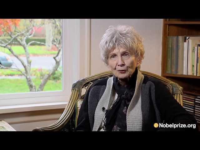 Alice Munro, In Her Own Words 2013 Nobel Prize in Literature