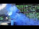 Как сделать синюю дымовую шашку своими рукамиHow to make a DIY smoke flare