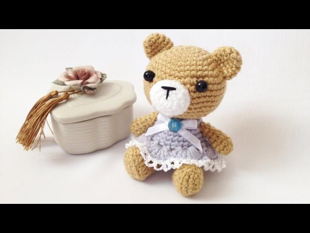 Мастер-класс Мишутка амигуруми (авторская работа)/Master class Amigurumi bear (my own creation)