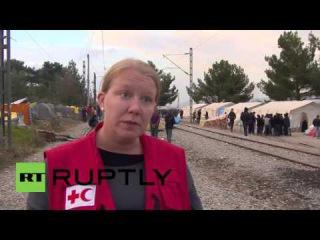 Греция: Протесты продолжаются, как Македония позволяет в только Сирийцы, Иракцы и Афганцы.