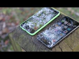 iPhone 5c vs 5s Raw Drop Test