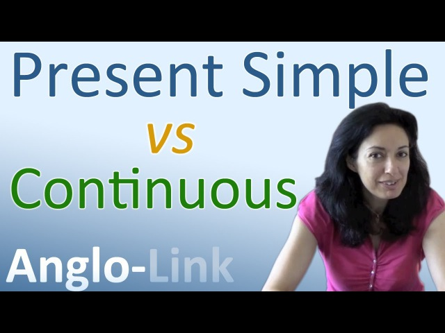 Present Simple vs Present Continuous - Learn English Tenses (Lesson 1)