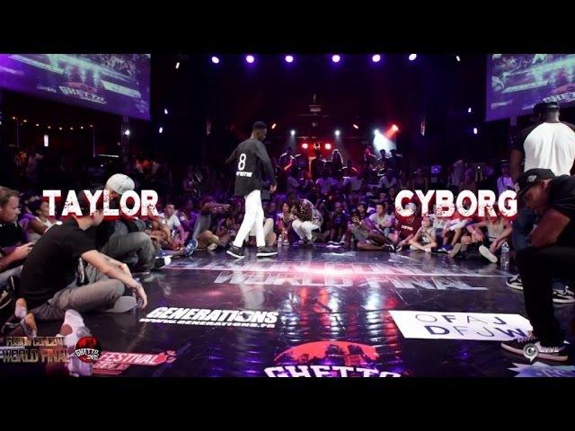 Taylor VS Cyborg | step 2 Pool 3 |Fusion concept 2016