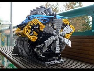 Amazing Lego Machines   Lego 3D Printers   Milling Machine Made of Legos