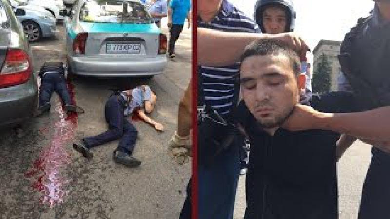 Перестрелка (теракт) в Алматы 18.07.2016 - Хронология событий